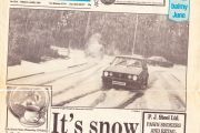 Snow in June 1989 (or was it!)