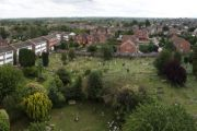 View from Rainham Church 2012