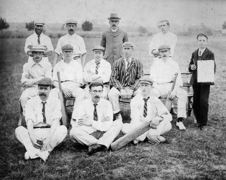 Photo of Rainham Cricket Club taken in 1902