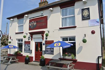 The Three Sisters Pub Upchurch Rainham Kent