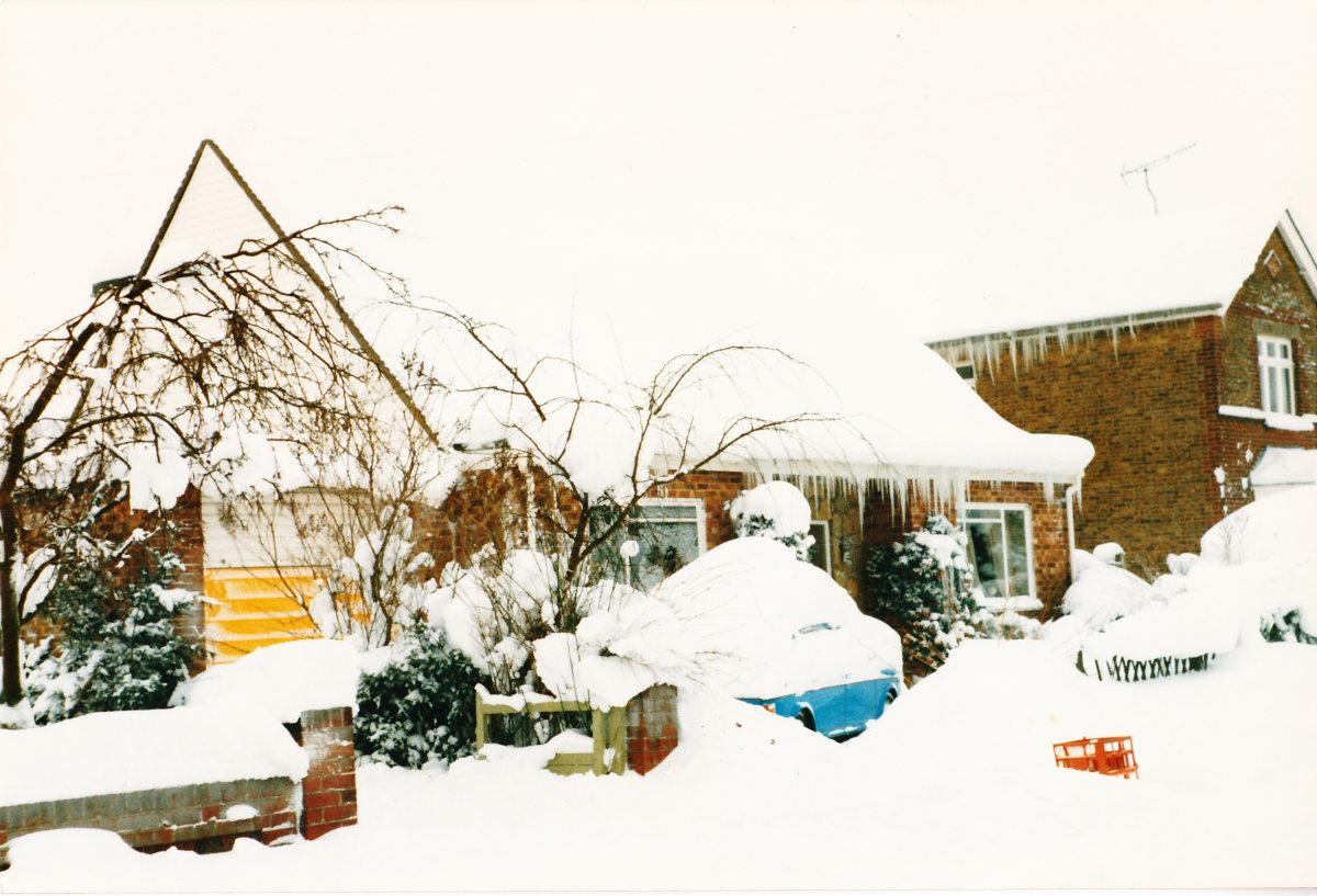 Medway Snow Photos 1987 (Chatham/Gillingham/Rainham)