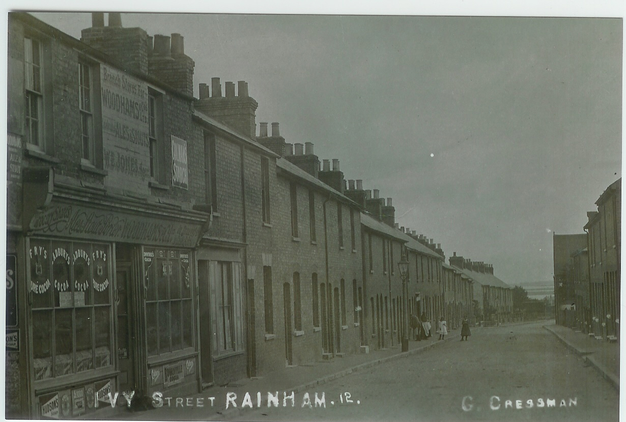 Old Photos of Ivy Street Rainham Kent