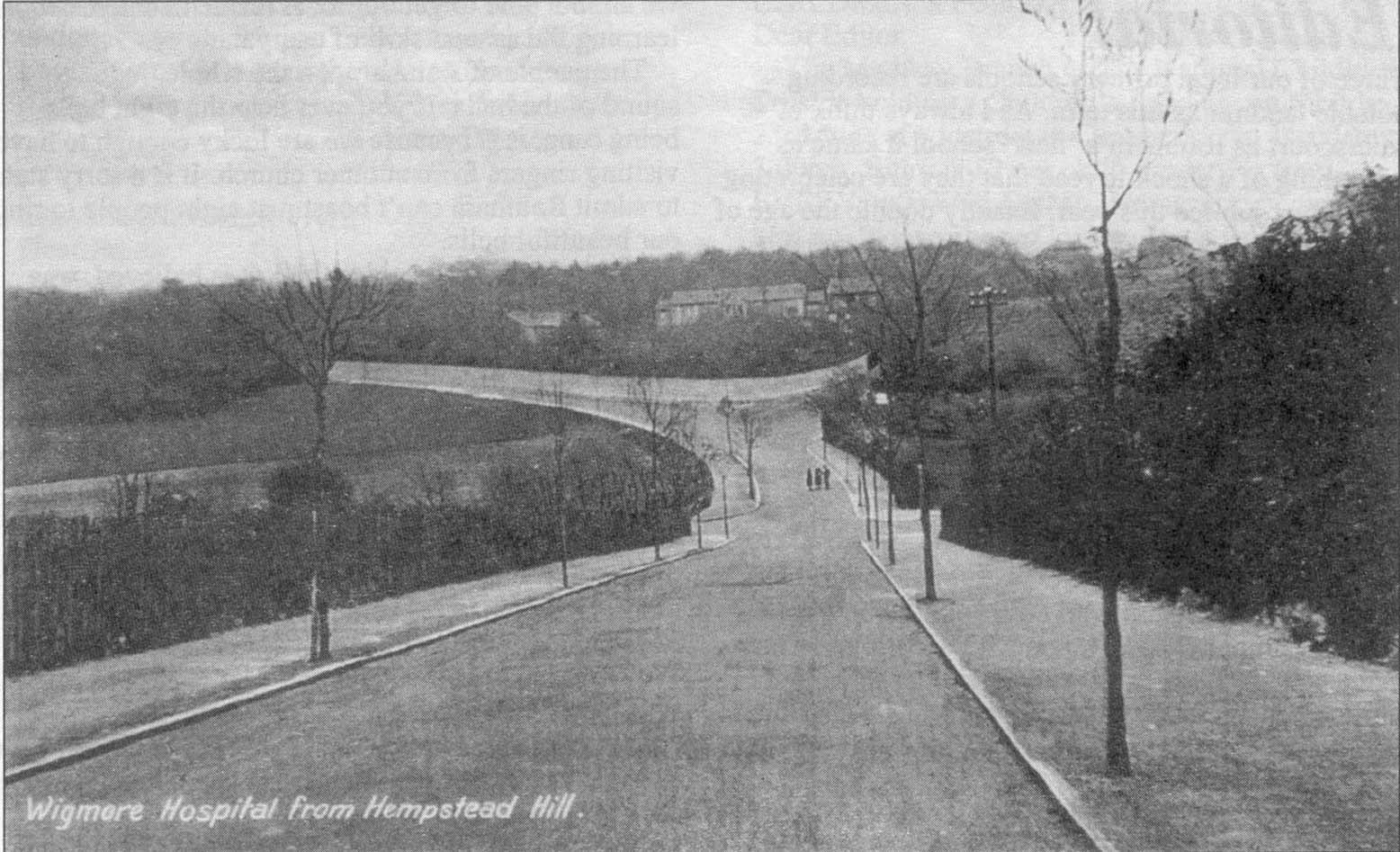 Pictures of historic hempstead kent, old photo of hempstead hill and wigmore hospital