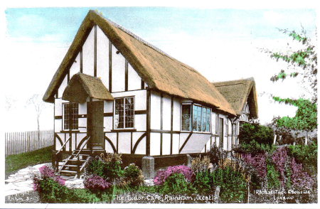 Upchurch pottery and Tudor Cafe
