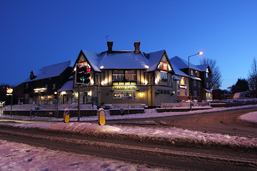 Rainham Kent Snow Photos 2010