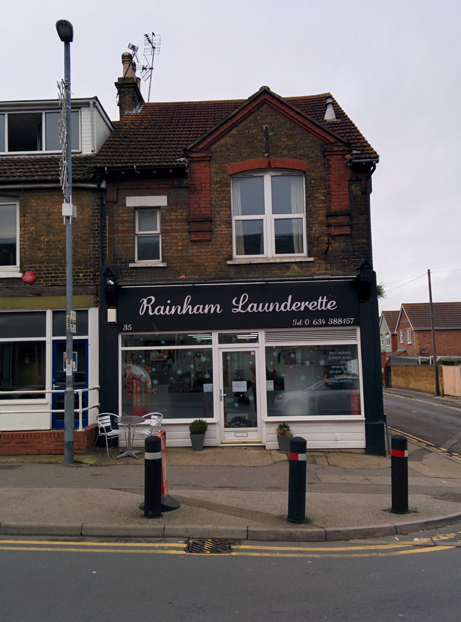 Rainham Launderette 2014