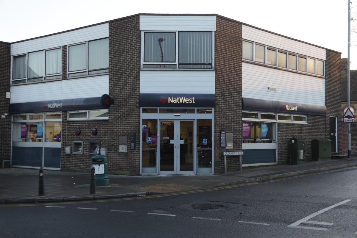 Natwest Bank Rainham 1970s