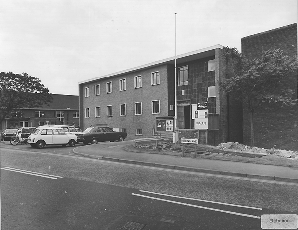 Old Rainham Police  station Kent 1970s