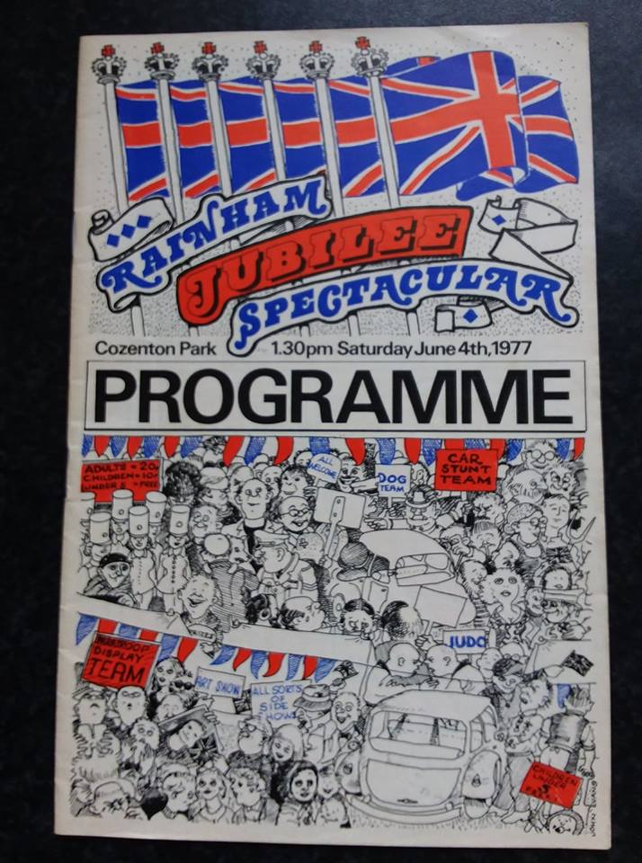Jubilee edition of the Rainham Spectacular programme from 1977