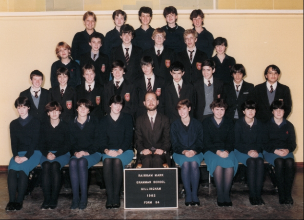 Gillingham Technical High School (GTHS) (Rainham Mark Grammar School) - Form Scott S4 1982