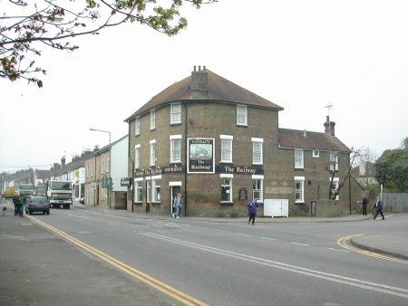 Railway Pub, Station Road, approx 2003