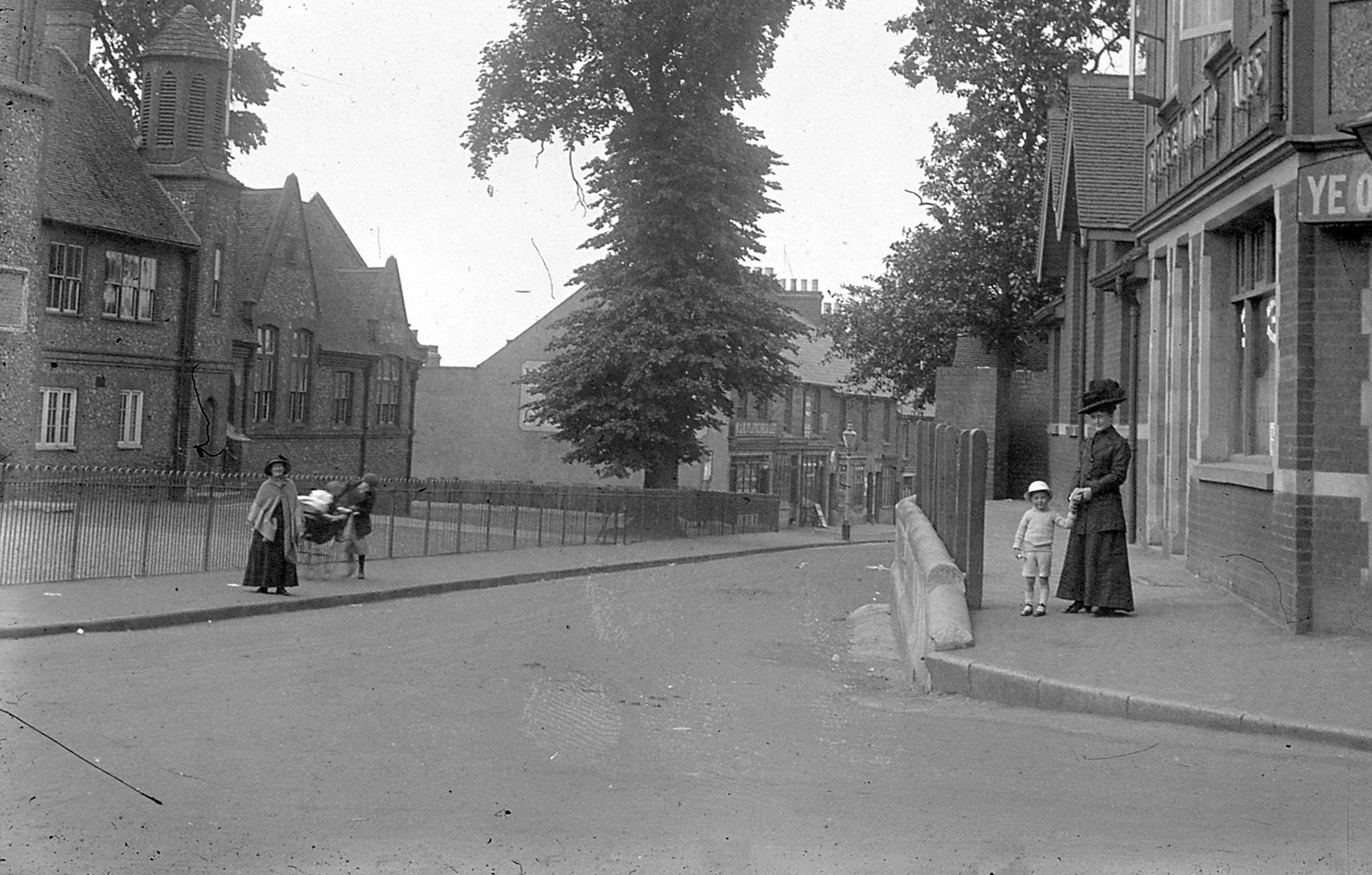 Church School Station Road Rainham Kent 1900