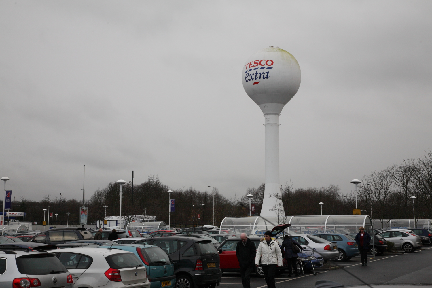 Tesco Extra Rainham/Gillingham - Bowaters Rainham Mark
