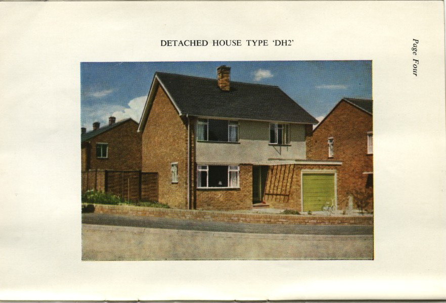 Parkwood estate new houses sale brochure 1960s, rainham kent