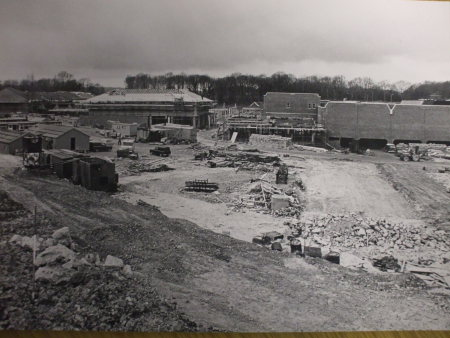 Photos of Hempstead Valley Shopping Centre 1978: Looking towards Hempstead Valley from Sharsted Way