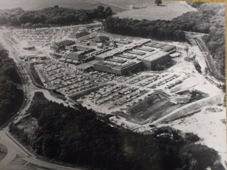 Aerial photo of Hempstead Valley Savacentre 1978