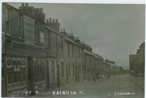 Photo of Ivy Street Rainham1913