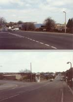 Photo of Lower Rainham Road prior to Northern Relief Road construction