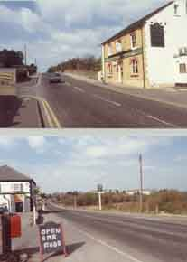 Photo of Plough & Chequers Lower Rainham Road prior to Northern Relief Road construction