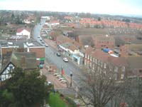 Aerial View of Rainham from St Margaret's Church 2004
