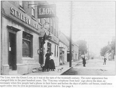 Photo of Green Lion Public House Rainham Kent c1900