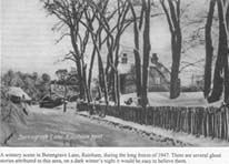 Photo of Berengrave lane 1947