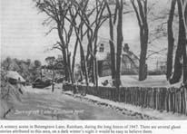 Photo of Berengrave lane 1947