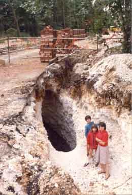 Photo of Dene Hole Rainham 1980