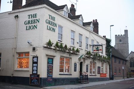 Photo of The Green Lion Rainham 2006