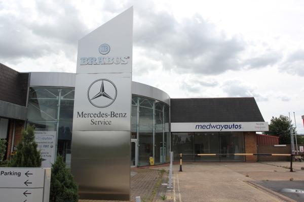 Medway Mercedes, Greens of Rainham Vauxhall Dealer