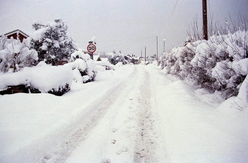 Rainham Snow 1987
