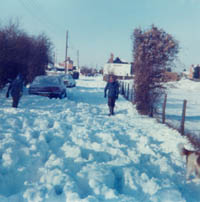 Army & Navy Pub Snow, Rainham Kent Jan 1979