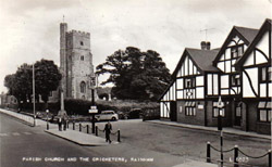 The Cricketers Pub Rainham Kent Photo 1950