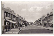 photo of station road rainham kent