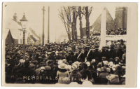 Photo of Rainham war memorial dec 1920