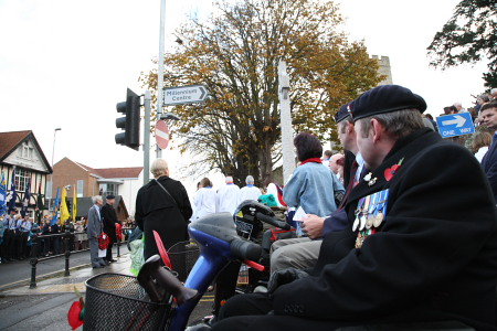 Rainham Remembrance Day 2007