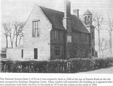 National School Rainham 1878