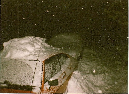 Snow in Chatham Kent 1987