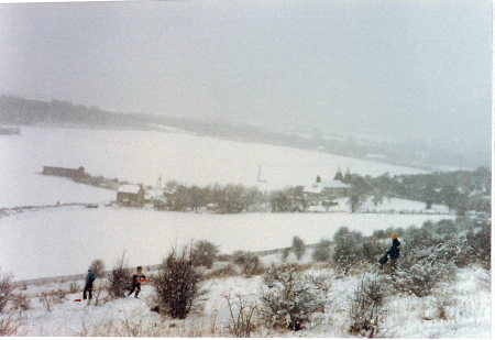 Snow in Rainham Kent 1987