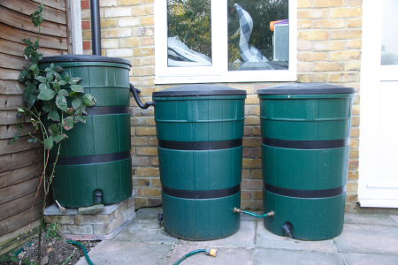 Rainwater Harvesting, Water Saving & Conservation to Beat The Drought Water Butts